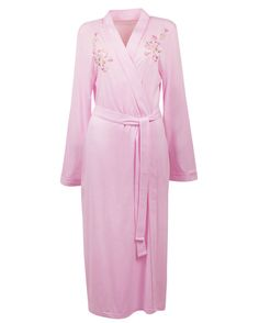 cc738fafa Nora-Rose by cyberjammies Trailing Flower Embroidery Knitted Long Kimono  Wrap Soft and beautiful Trailing