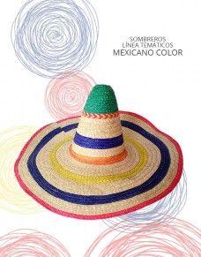 Línea Temáticos - Sombreros y Ponchos de Colombia 7d28be1923c