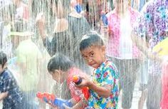 Songkran Water Festival 2017 - Happy New Year to friends in Thailand! Thailand Vacation, Phuket Thailand, Songkran Thailand, Songkran Festival, Vacation Planner, Nouvel An, Best Hotels, Around The Worlds, Culture