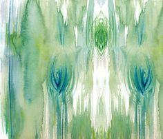 cestlaviv_wood abstract fabric by cestlaviv on Spoonflower - custom fabric