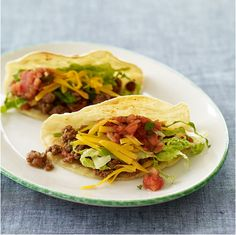 Spicy Beef Tacos PointsPlus 7 - weight watchers recipes
