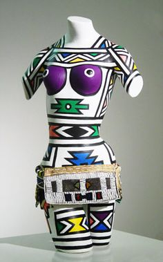 Fine Art by leading South African and International Contemporary Artists South African Artists, African Tribes, Human Sculpture, Sculpture Art, Africa Symbol, Mannequin Art, African Artwork, Female Torso, Afro Punk