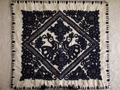 kp-053 Textile Patterns, Embroidery Patterns, Textiles, Punta Mita, Hungarian Embroidery, World Cultures, Hungary, Romania, Blackwork