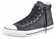 Produkttyp , Sneaker, |Schuhhöhe , Knöchelhoch (high), |Farbe , Schwarz, |Herstellerfarbbezeichnung , Black/Egret/Egret, |Obermaterial , Leder, |Verschlussart , Schnürung, |Laufsohle , Gummi, | ...