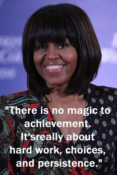 Michelle Obama - Inspirational quotes: Wise words from famous women