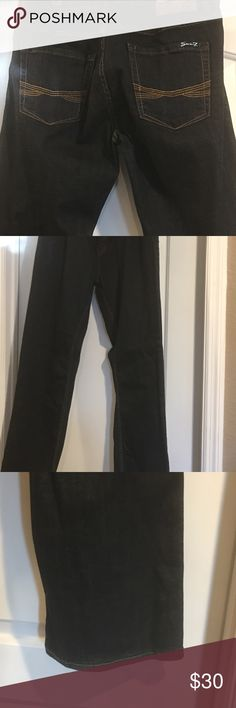Dark denim Seven7 Jeans are in very good condition they are straight leg no stains or rip. These are very well taken care of smoke and pet free home Seven7 Jeans Straight