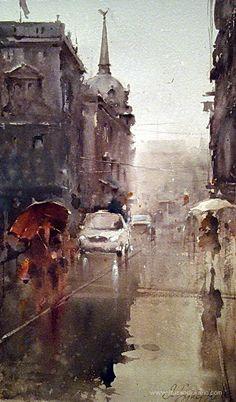 Watercolor, Dusan Djukaric