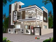 House Outer Design, House Outside Design, Best Modern House Design, Modern Exterior House Designs, House Front Design, Small House Design, Cool House Designs, New Model House, Model House Plan