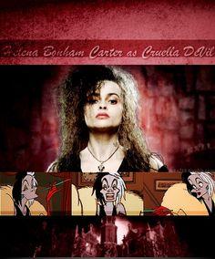  Disney Dreamcast: 101 Dalmatians  Helena Bonham Carter as Cruella De Vil