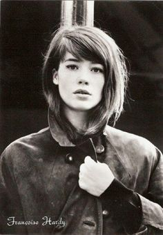 Françoise Hardy. Love her eyeliner