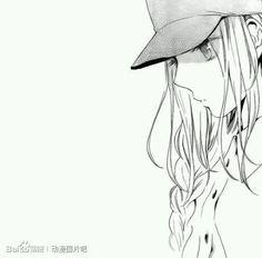 manga, anime girl, and black and white image Manga Girl, Anime Girls, Manga Love, Anime Love, Anime Manga, Anime Art, Awesome Anime, Hibi Chouchou, Anime Monochrome