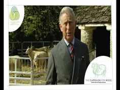 Campaign For Wool video by Prince Charles Prince Of Wales, Prince Charles, New Media, Feature Film, Sheep, Campaign, Fabrics, Wool, Youtube