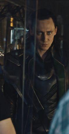 Tom Hiddleston as Loki.