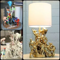 Have some toys lying around? You can turn those fond memories into a gorgeous piece of home decor. DIY Epic Lamp project can give old toys a new life.