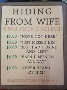 He already did this for his cousin... And no charge! We need to charge for lying to the wives for them!