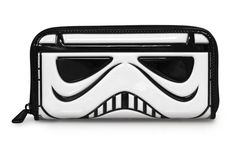 Star Wars Stormtrooper Patent Face Wallet
