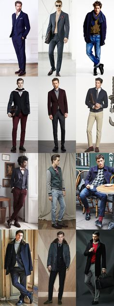 Men's Alternative Autumn/Winter Footwear Options: Penny Loafers Lookbook Inspiration