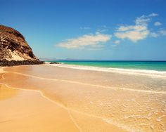 Another amazing beach in Fuerteventura - home to the best beaches in Europe...