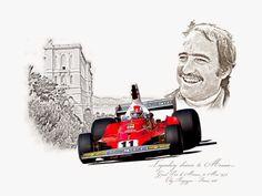 Clay Regazzoni - GP Monaco 1975