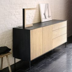 Ethnicraft NV - Oak Blackbird Sideboard - Lekker Home - 3