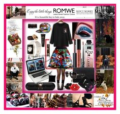 """romwe"" by angelihenkle ❤ liked on Polyvore featuring Marvel Comics, NARS Cosmetics, Anastasia Beverly Hills, Christian Louboutin, Gucci, Casetify, Kate Spade, Victoria's Secret PINK, NIKE and Beats by Dr. Dre"