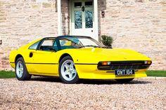 Acid Yellow Ferrari 308 GTS