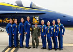 The blue Angels and Bud.