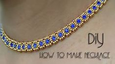 How To Make Necklace At Home | Necklace | Diy | Black Pearl - YouTube