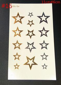 Cheap star tattoo, Buy Quality tattoo sticker directly from China tattoo tattoo Suppliers: