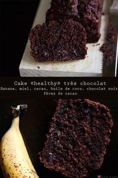 "Cake ""healthy"" très chocolat"