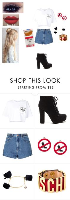 """""""Moschino Casual"""" by explorer-14632756636 on Polyvore featuring Moschino and Glamorous"""