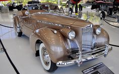 Just a Car Guy: the gorgeous 1940 Packard Darrin Custom Victoria 180 convertible coupe