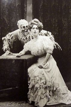 Apparently Skeleton Erotica Used To Be A Thing In The Victorian Age
