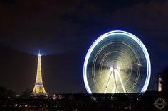 Paris. View from the Westin Paris - Vendôme.  #paris #parisien #instaparis #eiffeltower #toureiffel #ferriswheel #france #dutourdumonde #resourcemag #myphotocrowd #nightphoto #longexpo #westinparis #wanderluster #exploringeurope #nikonnofilter #placedelaconcorde #instaparis