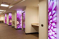 Panel decorativo de pared / de cristal / translúcido / liso - LIGHTPLANE - FORMS+SURFACES