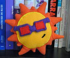 Funky Sunday: DIY: Le patron gratuit du doudou soleil [tuto-couture inside]