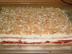 3 Zutaten Nusskuchen - Rezepte des Tages Vanilla Cake, Tiramisu, Bread, Ethnic Recipes, Desserts, Miami Beach, Food, Lemon Cake Recipes, Biscuits