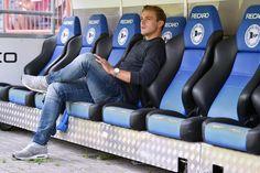 Achillessehne: Schmerzen bei Arminias Mittelfeldspieler nach Trainingseinheit am Donnerstag +++ Rückschlag für Tom Schütz