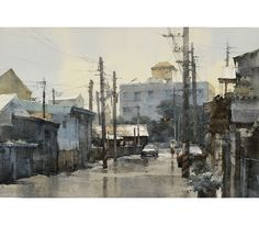 Latest Watercolor 近期水彩 | Chien Chung Wei 55 x 75 cm