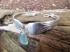 Sea glass jewelry  Seafoam green sea glass on by FatCatsOnTheBeach, $29.00