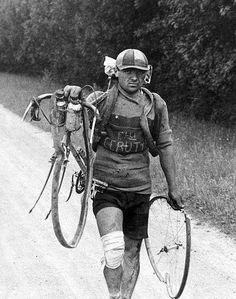 Tough guy. Tough sport. Always has been.