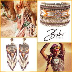 Orange 'Indy Lynn' set by Bibi Bijoux. #bibi #bijoux #bibibijoux #jewelry #handmade #swarovski #2016 #fashion