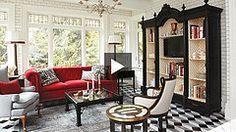 Radical Victorian Family Room
