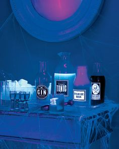 Turn ordinary containers into glow-in-the-dark bottles of Cyanide Soda, Elixir of Doom Gin, Toxic Tonic, and Black Death Vodka using our clip art and