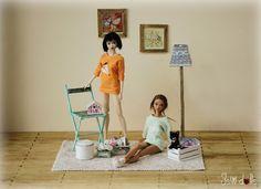 https://flic.kr/p/CWFDht | Suzu, Brooke and Miko | Sweatshirts by Delfina's Dolls Designs Handmade decoration by JSW DOLLS