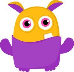 SGBlogosfera. María José Argüeso: Dibujos Disney Little Monster Party, Monster Inc Party, Cute Monsters, Little Monsters, Quilting Projects, Sewing Projects, Monster Clipart, Doodle Monster, Monster Under The Bed