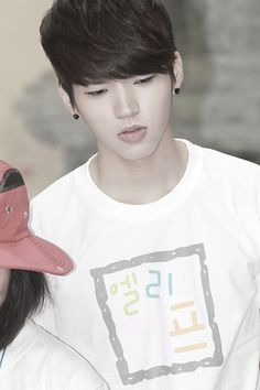 Woohyun, one of my fave voice together with Sunggyu <3
