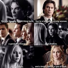 #TVD 1x08//6x15 - Damon & Caroline