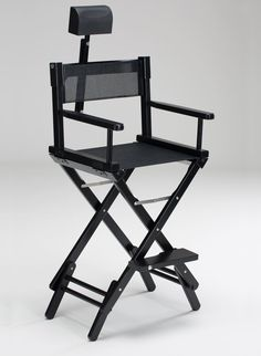 WOODEN MAKEUP ARTIST CHAIR S102N + HEADREST - PROMO PACK. Makeup director chairs. Cantoni