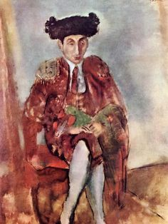 Alfred Flechtheim Dresses as a Toreador. Jules Pascin (1927). Musée National d'Art Moderne de Paris.